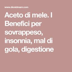 Aceto di mele. I Benefici per sovrappeso, insonnia, mal di gola, digestione Biscotti, The Cure, Food And Drink, Health Fitness, How To Make, Hobby, Plank, Diy, Diets