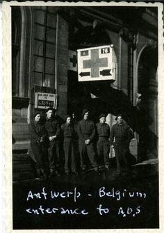Antwerp - Belgium - enterance ie. [entrance] to A.D.S. | saskhistoryonline.ca