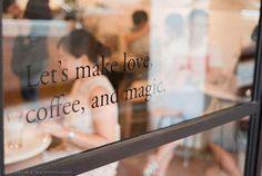 Coffee Shop - Let's make love!