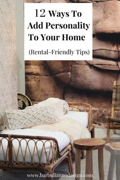 How To Add Personality and Warmth To Your Home - 12 Easy Tips. No matter what your style is, these following steps will help bring out your personality and make your home feel like a giant hug. And guess what, they are rental-friendly too. ;) #howtoaddpersonalitytoahome #homewithcharacter #bestwaystoaddpersonalitytoyourhome #addingpersonality #personalityhome #rentalfriendlydecoratinghacks