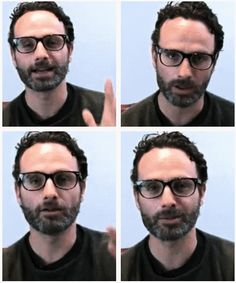 Hipster Andrew Lincoln. But if he is a hipster then he would totally go by Andy.