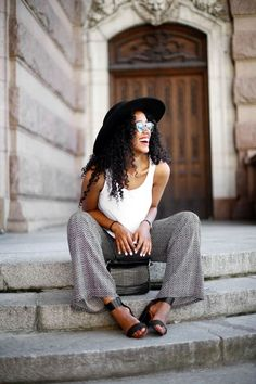 Mens Fashion Edgy – The World of Mens Fashion Street Style 2017 Summer, Street Style Edgy, Autumn Street Style, Street Style Women, Style Men, Star Fashion, Fashion Pants, Fashion Outfits, Latest Fashion