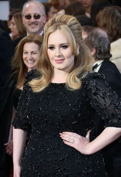 Adele looks gorgeous