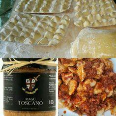 Tordelli lucchesi fatti in casa con ragù #homemade Tordelli from Lucca