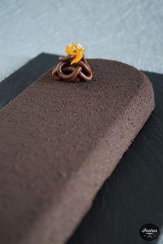 Sacher, Christmas Deserts, Desert Recipes, Mini Cakes, Cakes And More, Fine Dining, Macarons, Fondant, Sweets