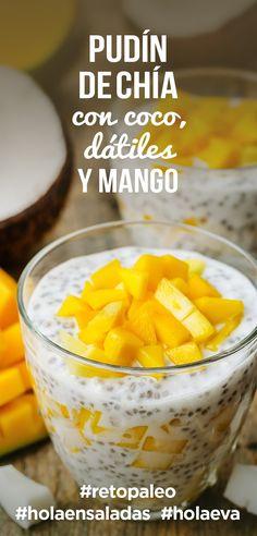 Image result for pudding de mango y chia coco playground