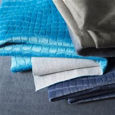 kalahari - turquoise fabric | Designers Guild Essentials