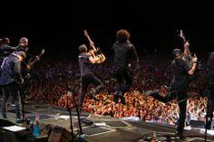 Bruce Springsteen in Australia. Photo by Jo Lopez.