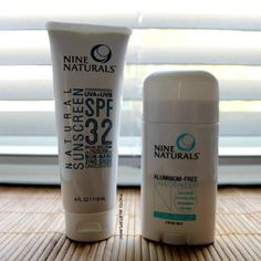 Nine Naturals Skincare Products - 100% Plant Based safe for the whole family!  @LetsPlayOC