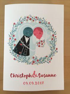 Die Hochzeitstorte ist der Einladung nachempfunden Playing Cards, Wedding Pie Table, Invitations, Pies, Game Cards