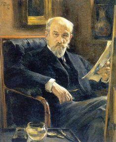 Браз О. Э. Портрет А. П. Сомова. 1897