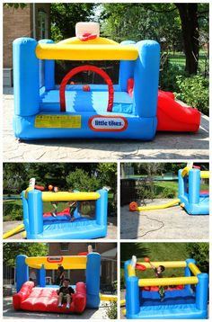 Like Tikes Junior Sports 'n Slide Bouncer Review and #Giveaway