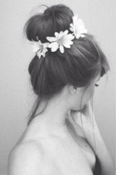 Flowers in Her Hair: Braids   Blooms