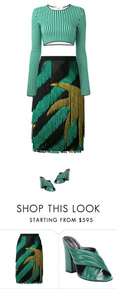 """""""65"""" by bonitasepoderosas ❤ liked on Polyvore featuring Marco de Vincenzo, Gucci and Ports 1961"""