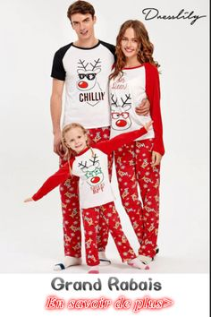 d37d3411bb Rudolph Deer Matching Family Christmas Pajama Set - Red Mom L Cotton Animal