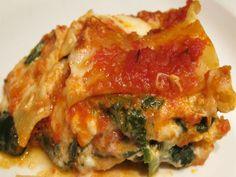 Sunday Pasta®: Lasagna algi Spinaci - The Garrubbo Guide