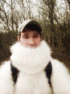 Gros Pull Mohair, Angora Sweater, Catsuit, Mittens, Mantel, Cardigans, Sweaters, Fur Coat, Men Sweater