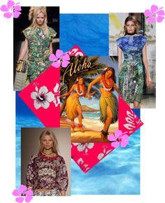 """Hawaiian Prints..."" by kimearls on Polyvore"