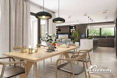 Nevada - Dobre Domy Flak & Abramowicz Nevada, Dining Table, House, Furniture, Home Decor, Prefab Homes, Interiors, Decoration Home, Home