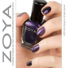 Featured Color Combination: Zoya Nail Polish in Julieanne and Aurora! Purple Nail Polish, Zoya Nail Polish, Nail Polish Colors, Manicure, Nails, Art Tips, Nail Care, Color Combinations, Aurora