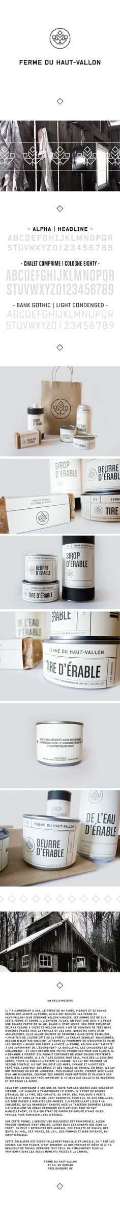 Ferme du Haut-Vallon by Eliane Cadieux, via Behance