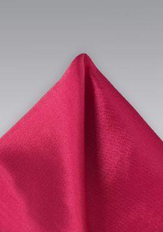 e2c9aac6511f Gemustertes Einstecktuch Kunstfaser hellrot - Passend zur Herrenkrawatte  das farblich abgestimmte Einstecktuch in stylischem hellrot.