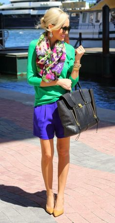 #Spring #colors #outfit #fun