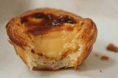"""Alchemy in The Kitchen - Simple Ingredients, Magical Food: Pastéis de Nata - Portuguese for """"my day has just gotten better""""! Portuguese, Belem, Sweet Recipes, Puddings, Delicious Desserts, Catering, French Toast, Muffin, Cooking Recipes"""
