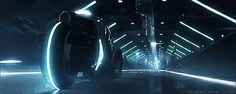 Tron Legacy - Light Cycle | Sci-Fi City Streets| Gif