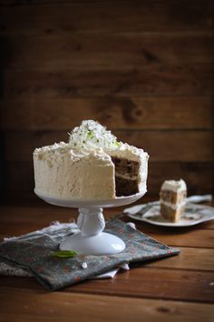 Apple Spice Cake with Salted Caramel Frosting