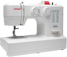Janome 5812 Mechanical 12-Stitch Sewing Machine