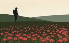 BBC Schools - Remembrance and poppies Remembrance Day Activities, Remembrance Day Art, Soldier Silhouette, Silhouette Art, Ww1 Display, Display Ideas, Flanders Field Poppies, Ww1 Pictures, Ww1 Art