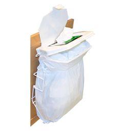 Rack Sack Kitchen Trash Can System | Cabinet Trash Cans | Kitchen - via http://bit.ly/epinner