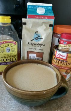 Pumpkin Pie Spiced Latte 21 day fix approved