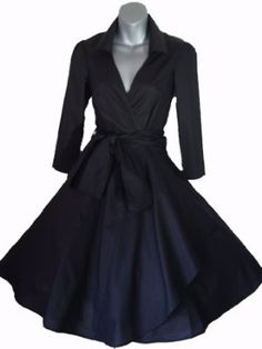 Robe d'hiver annee 50