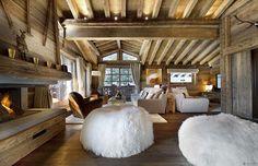 elegantes landhaus design weich hocker holz