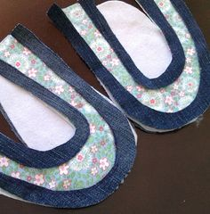 size 4 toddler shoe pattern and tutorial