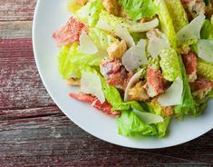 Turn your Caesar salad into an elegant main course with the addition of tender lobster chunks. Lobster Caesar salad is a dinner party home run! Lobster Risotto, Lobster Pasta, Lobster Salad, Lobster Stew, Seafood Salad, Lobster Recipes, Fish Recipes, Seafood Recipes, Salad Recipes