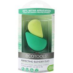 EcoTools Perfecting Blender Duo Makeup Sponges, 2 count - Walmart.com