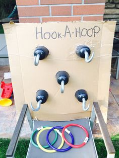 Hook the hoop game