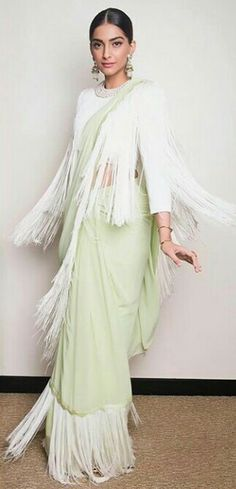 Sonam kapoor party wear sarees, Style trends for saree Sonam Kapoor Saree, Sabyasachi, Deepika Padukone, Indian Attire, Indian Outfits, Indian Wear, Western Outfits, Indian Designer Outfits, Designer Dresses