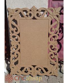Kabartma Model Ah ap Ayna er evesi Embossed Model Wooden Mirror Frame Mirror Art, Diy Mirror, Frame Crafts, Diy Frame, Home Confort, Thermocol Craft, Styrofoam Art, Motif Oriental, Flur Design