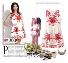 """""""Oasap 16"""" by ajdin-lejla ❤ liked on Polyvore featuring moda, Nearly Natural i Chanel"""