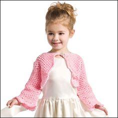 Crochet Shrug Girls Flower 29 Ideas For 2019 Crochet For Kids, Crochet Baby, Free Crochet, Crochet Flower, Crochet Shrug Pattern, Crochet Jacket, Free Pattern, Crochet Shrugs, Crochet Poncho