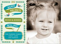 Banners of Love Holiday Card from Shutterfly- love it!
