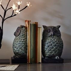 Graham and Greene bookends