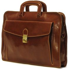 Milano Sleeve is handmade in Tuscany using Italian polished calf-skin leather and old world craft methods. The result is a timeless and simple briefcase with unquestionable quality and durability.