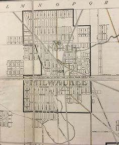 Mchs Campus Map.21 Best Vintage Milwaukee Maps Images In 2019 Milwaukee Map Maps