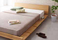 Wood Bed Frame Singapore_Platform Bed Amaya (1)