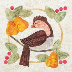 Christmas Partridge by Beth Ferrier